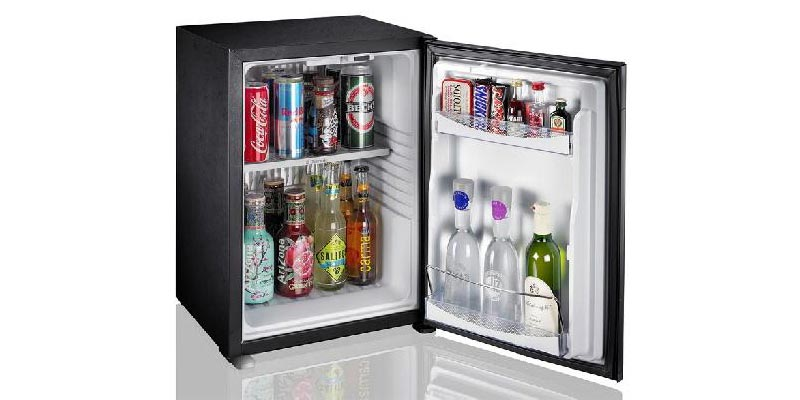 "1The efficient and compact minibars ""Efficient use"""